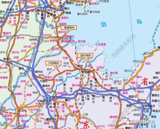 途径寿光的这条高铁线,建筑规模曝光!在寿光东站设2台4线…